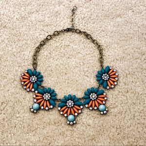 Lucky Brand boho style statement necklace